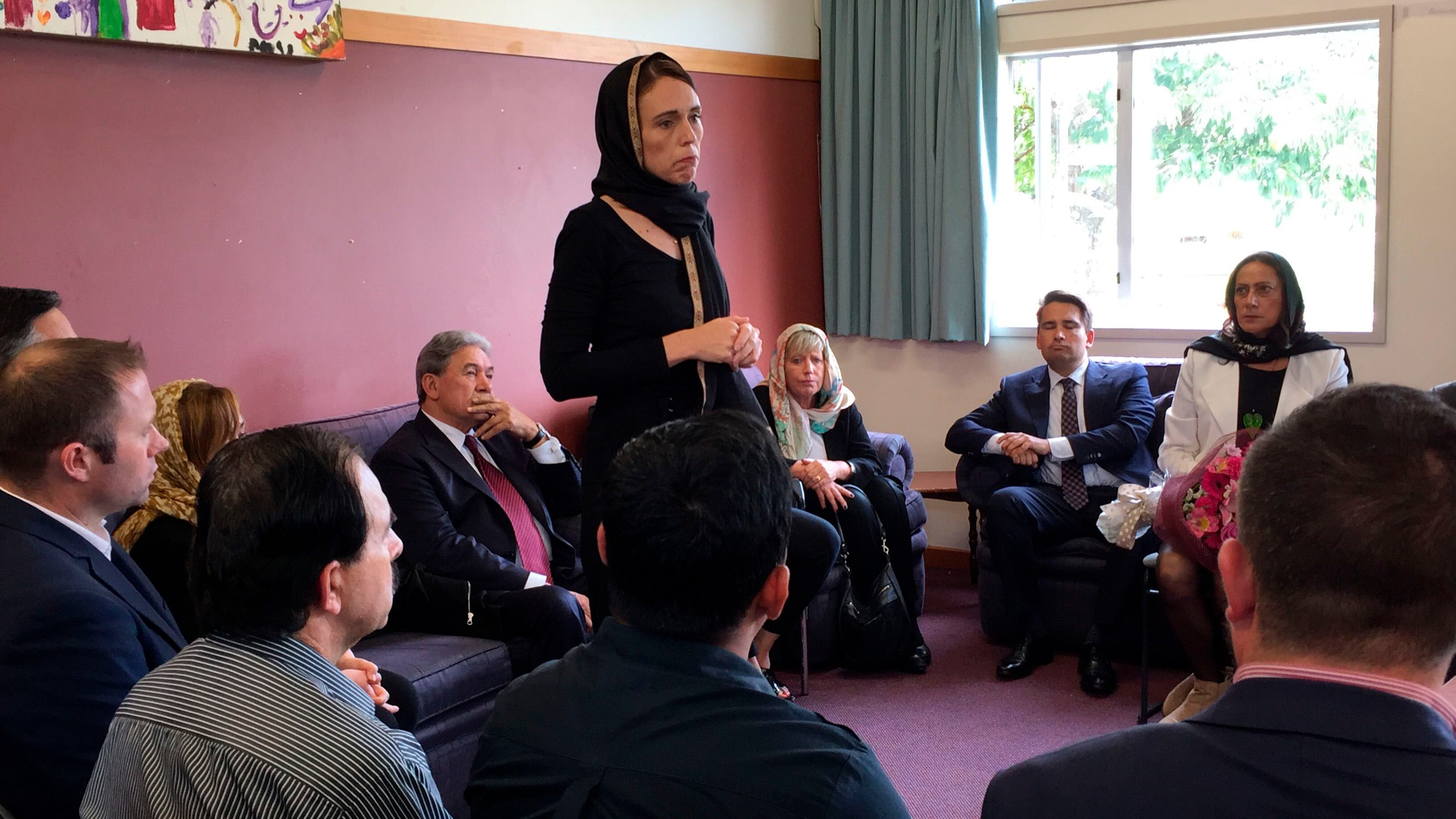 "New Zealand prime minister vows to keep the mosque shooter ""nameless"""