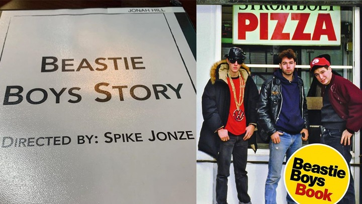 jonah hill and spike jonze are working on the beastie boys' new project