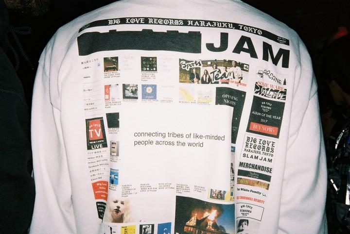 slam jam's luca benini on why the fashion world dances to his streetwear beat