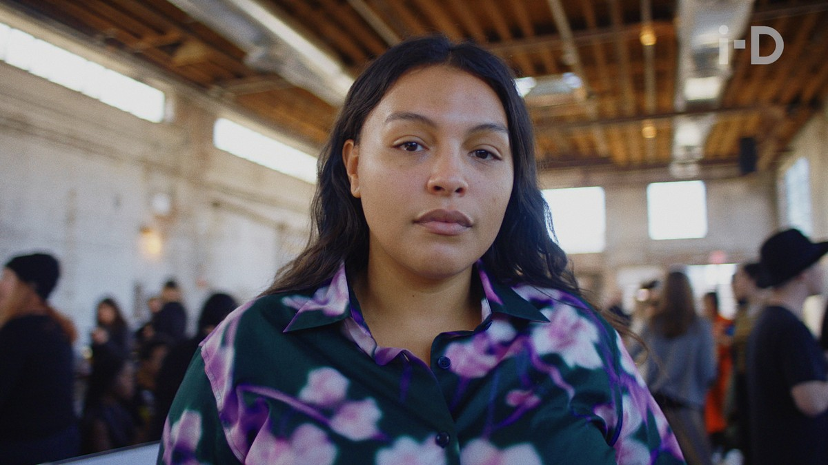Paloma Elsesser On Why There S No Fashion Week Like New York I D