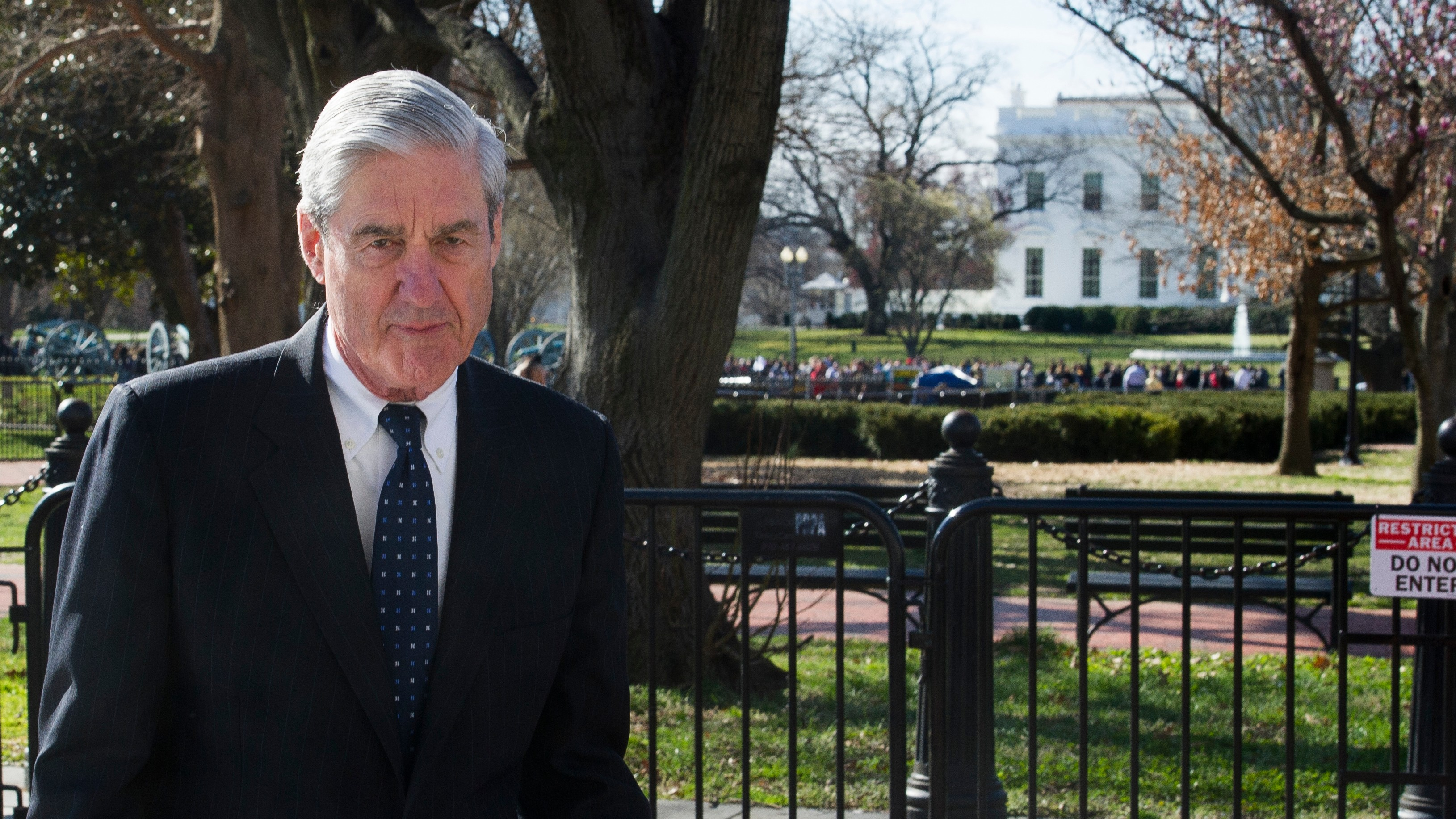 The Mueller report did not find that the Trump campaign conspired with Russia, attorney general says