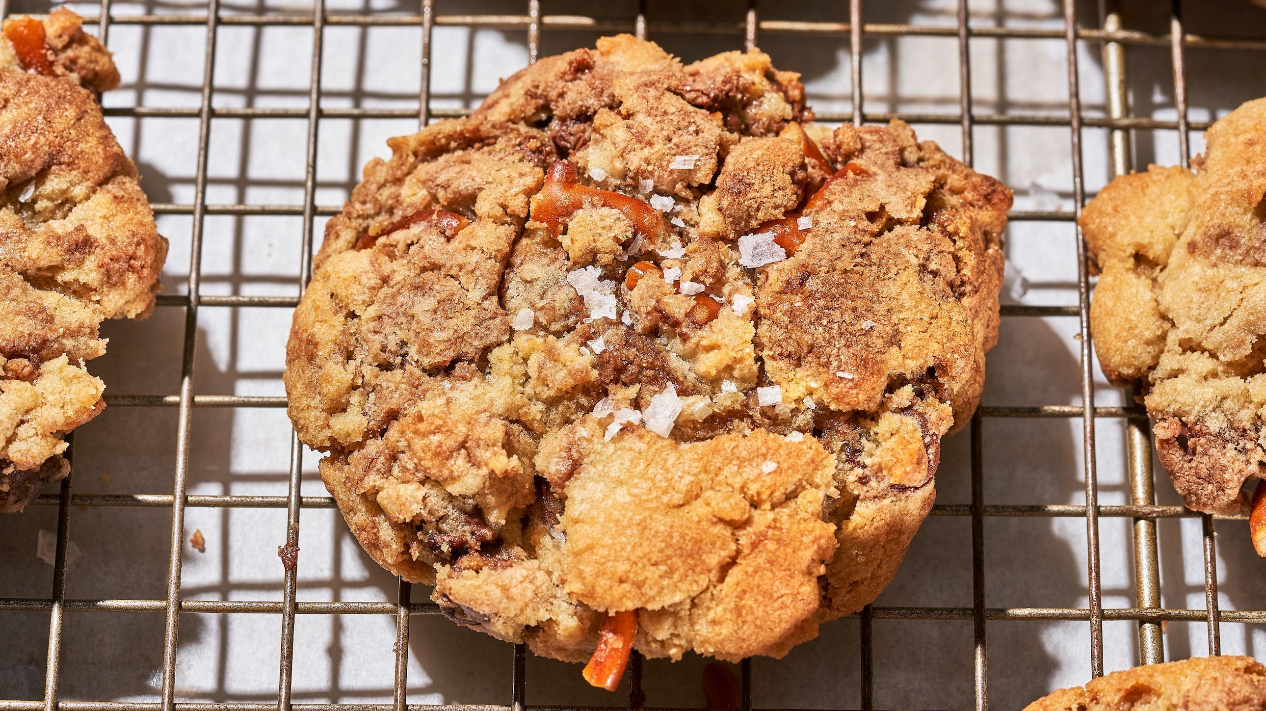Hazelnut and Pretzel CBD Cookie Recipe