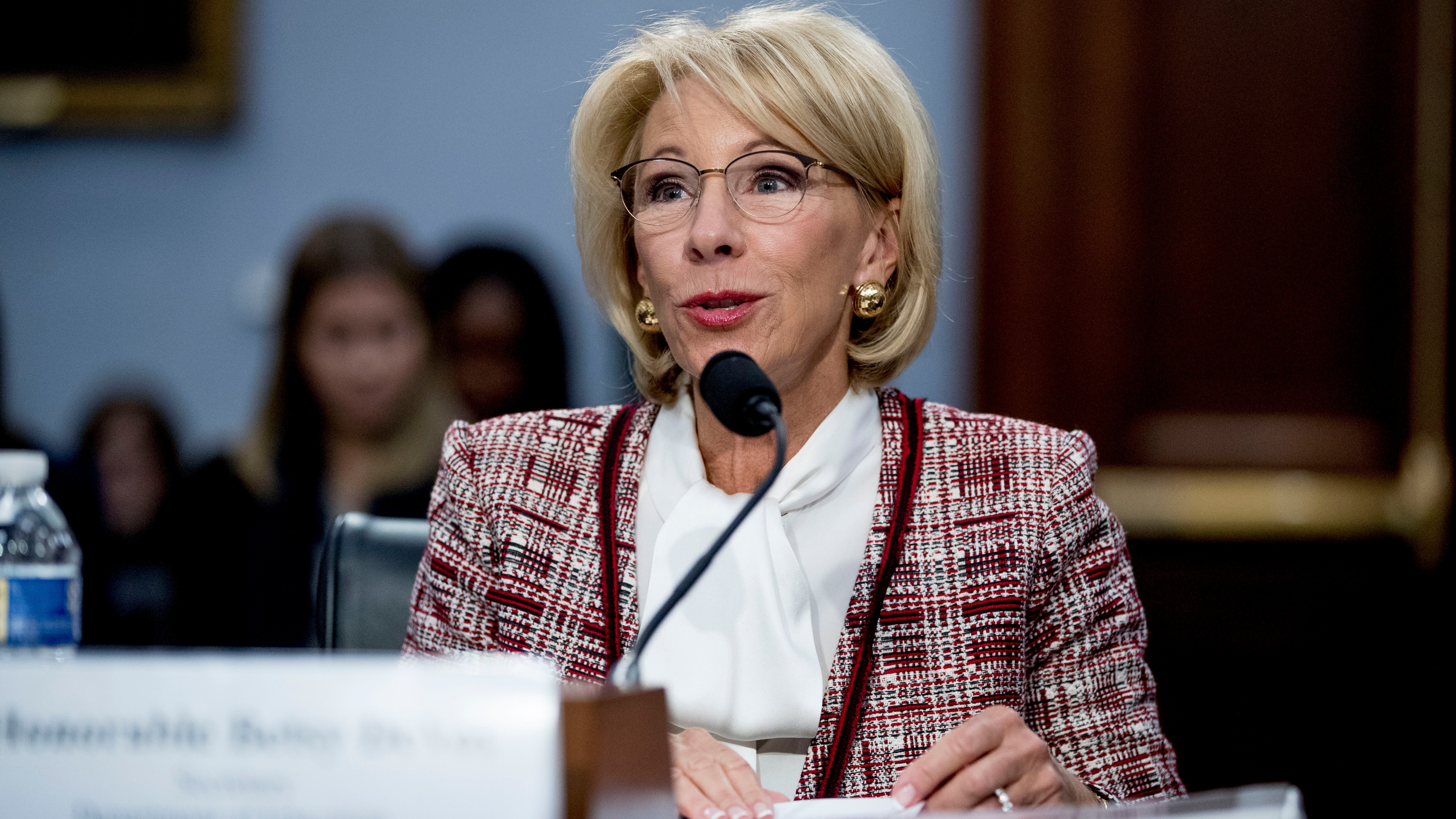 Betsy DeVos wants to gut funding for the Special Olympics