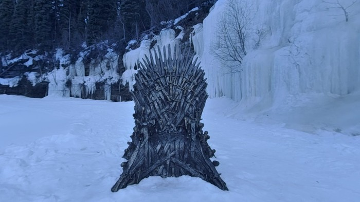 This Canadian Couple Found the Fifth Hidden 'GoT' Iron Throne