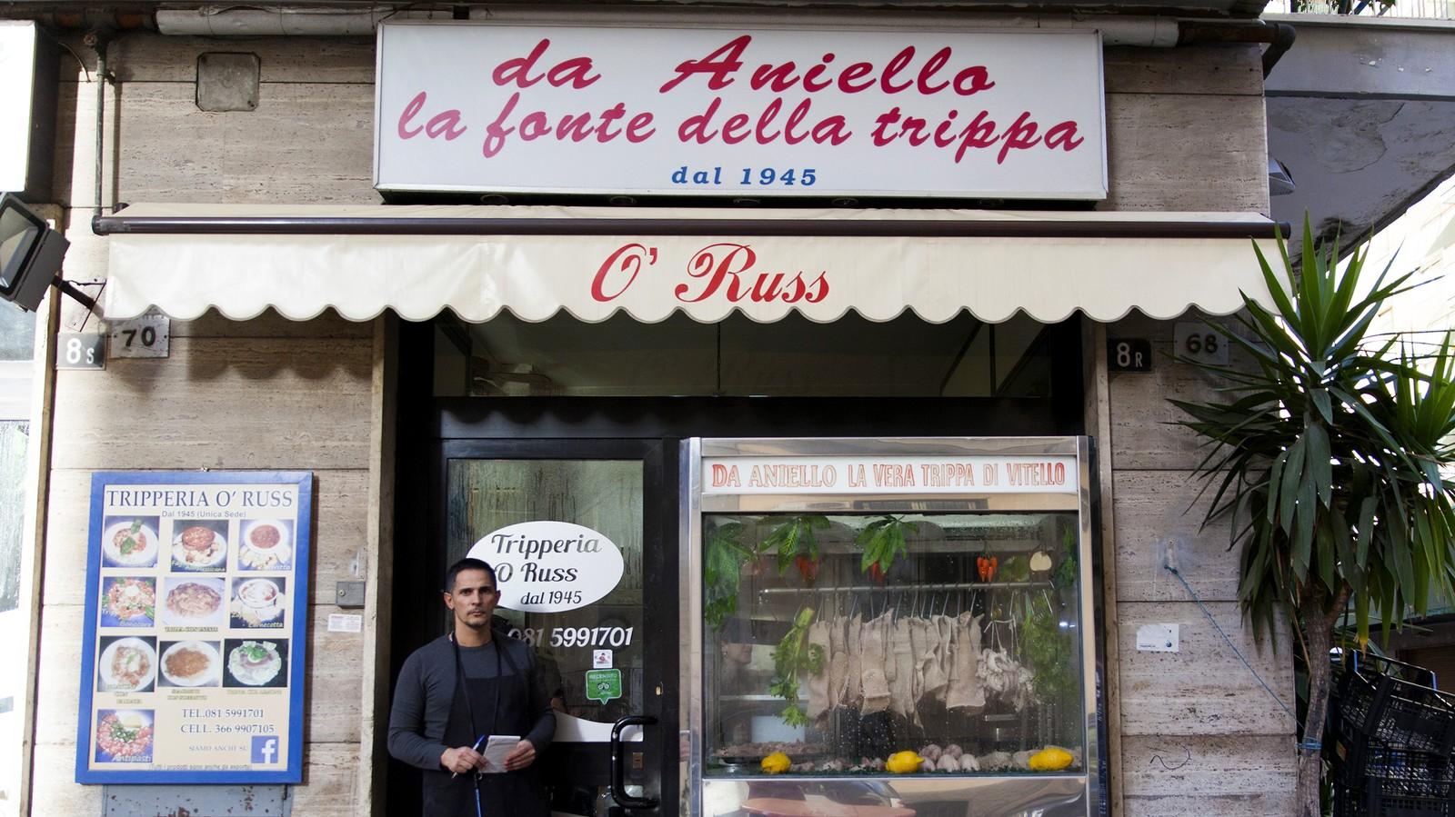 À Naples avec l'empereur de la tripe à 5 balles