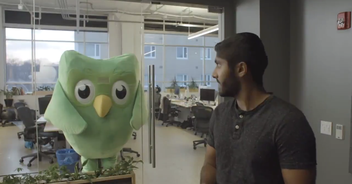 Duolingo's Cute Owl Mascot Is a Ruthless, Terrifying Sociopath with