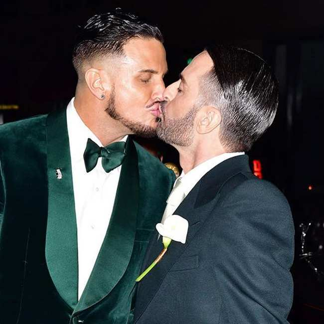 buy popular d7493 1a707 the inside scoop on marc jacobs's star-studded wedding ...