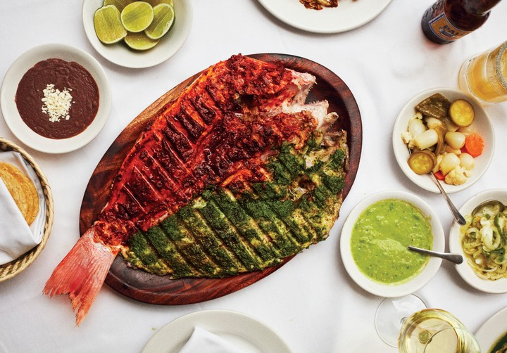 Contramar's Red and Green Grilled Snapper Recipe - VICE