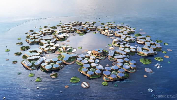 L'ONU soutient un projet de ville flottante résistante aux catastrophes naturelles - VICE