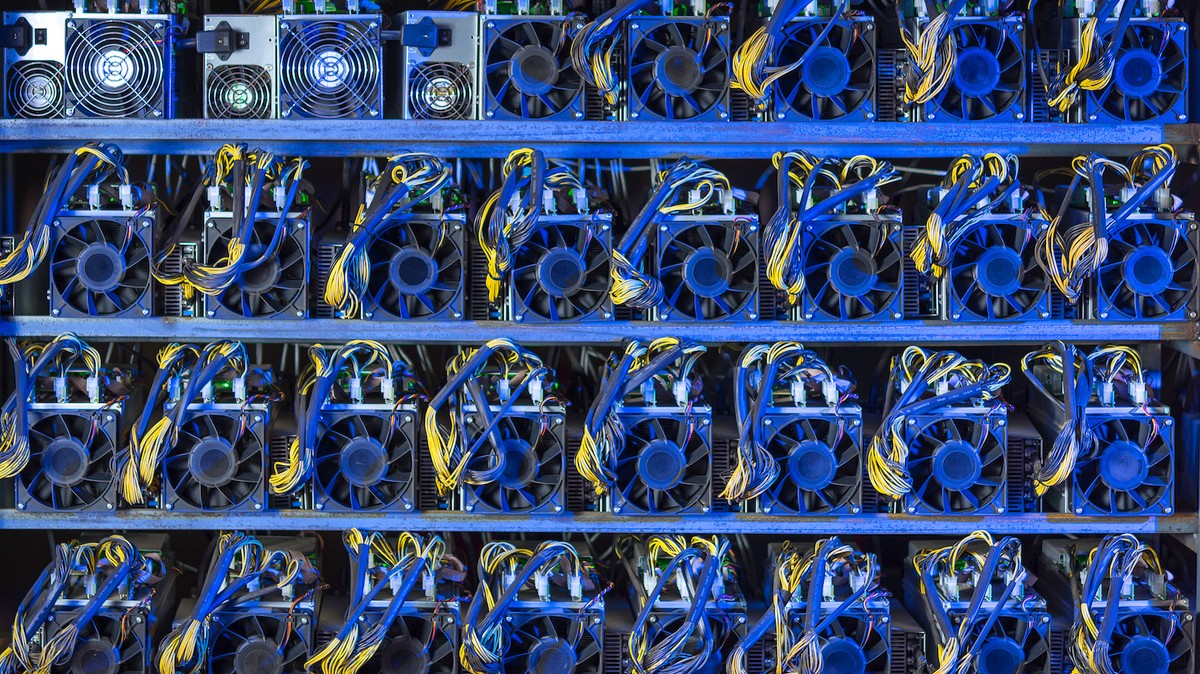 Cryptocurrency for mining industry