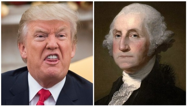 Trump Is Now in a Flame War with [Spins Wheel] George Washington