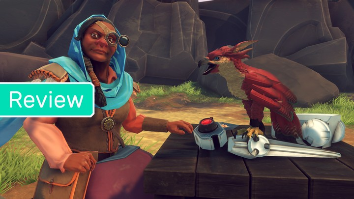 'Falcon Age' Is a Damning Anti-Colonialist Story In Search of a Better Game - VICE