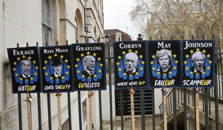 Brexit Scorecards: Who's Nailing It and Who's Screwing Their Career?