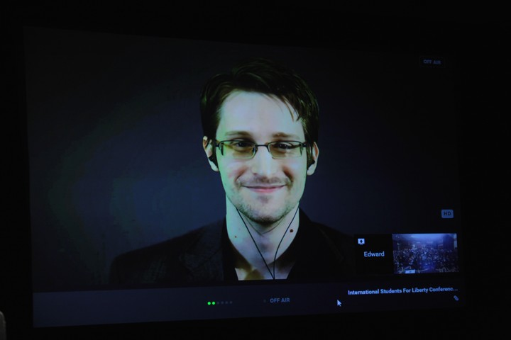 Edward Snowden: Assange's Arrest and the Mueller Report Show a 'Two-Tiered System of Justice'
