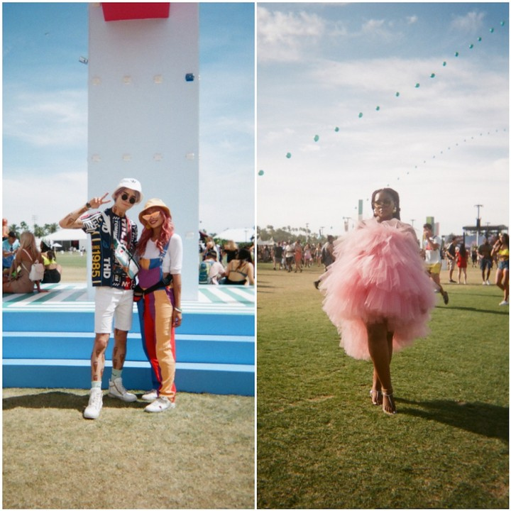 all the best looks from coachella, straight up
