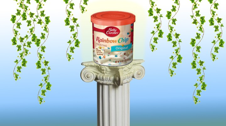 Betty Crocker Rainbow Chip Frosting Is Best Enjoyed Straight Out of the Tub