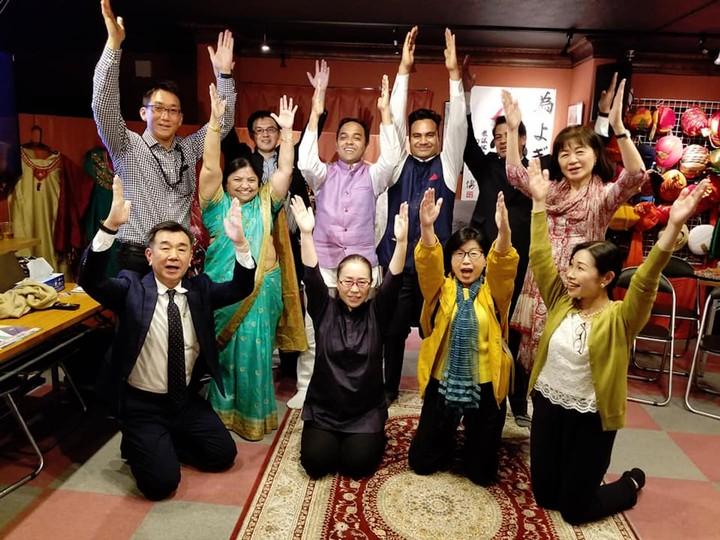 Indian 'Yogi' Wins an Election in Japan