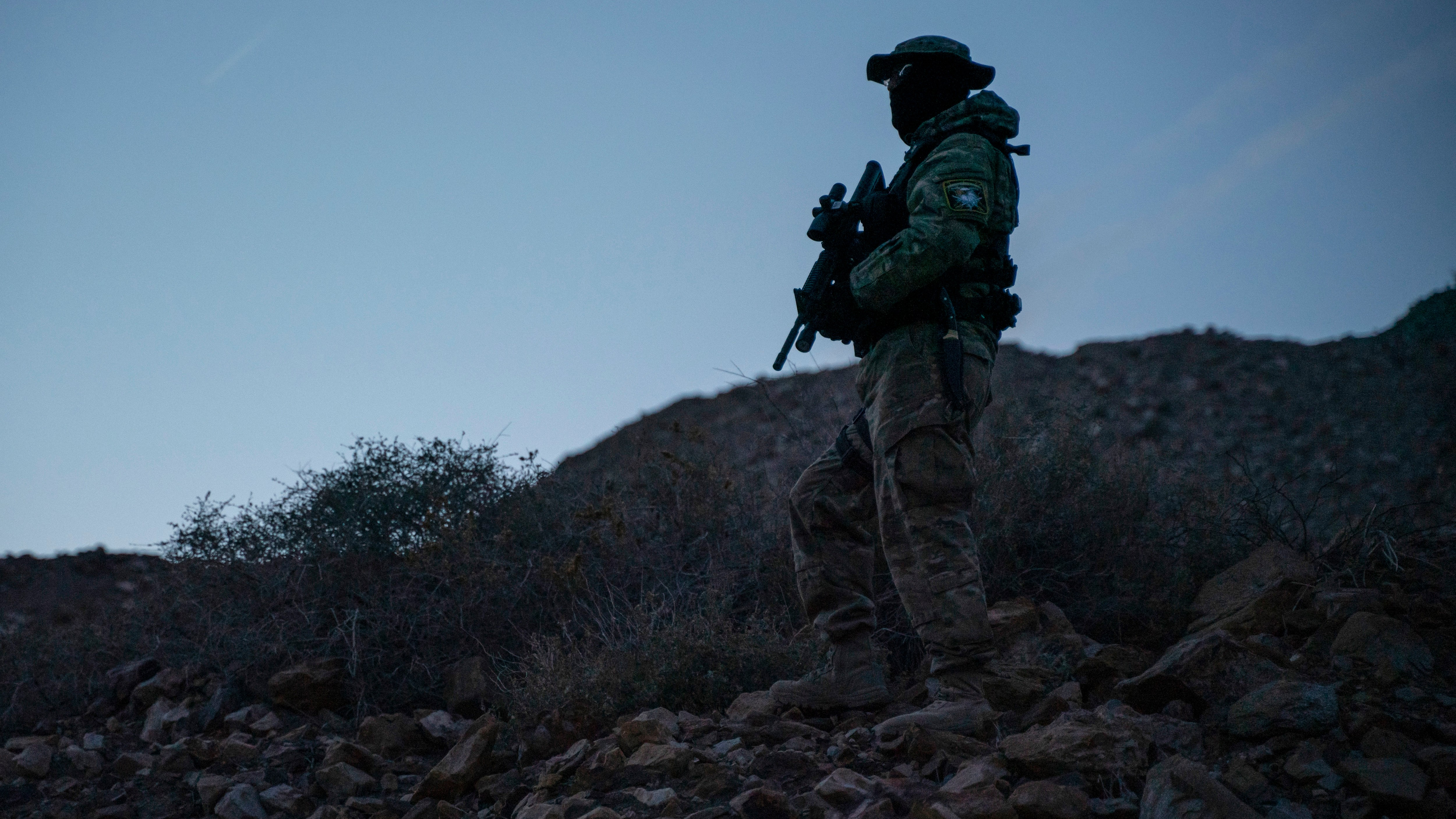 That armed militia at the border in New Mexico is calling it a day