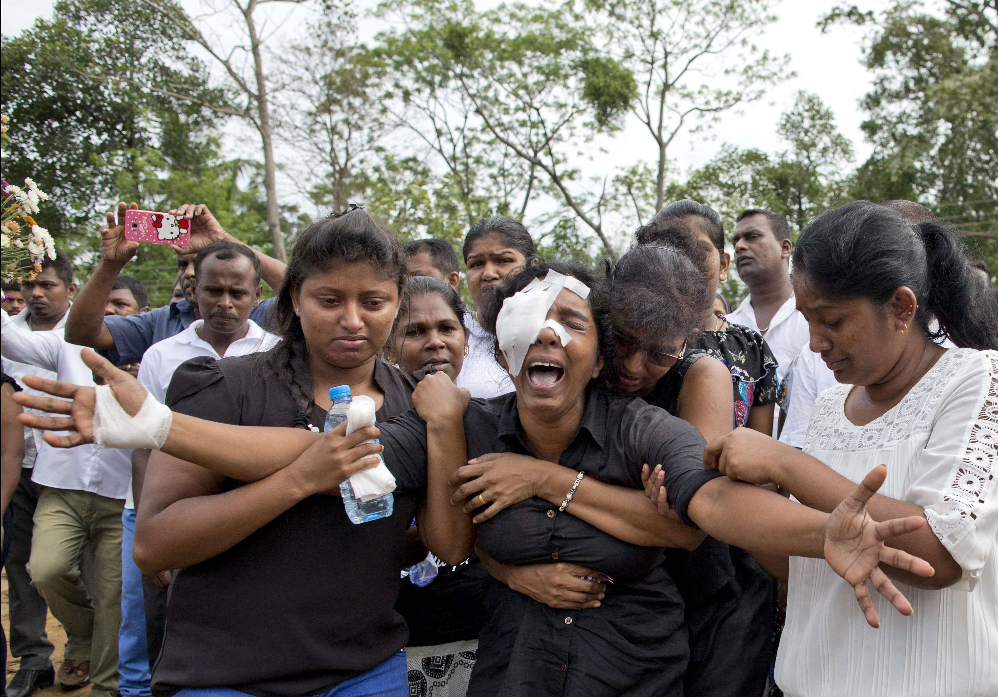 Sri Lanka's grief over Easter attacks is turning to fury at the government