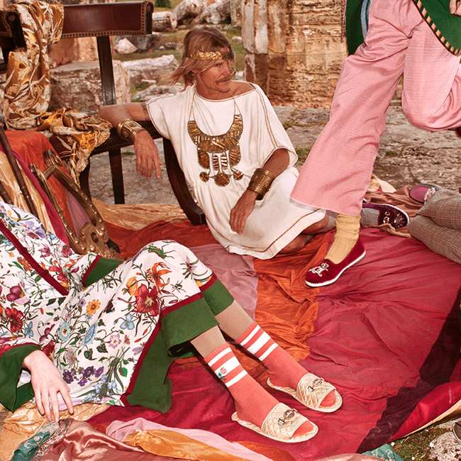 320d19b5431 We spoke to an archaeologist about Gucci's new campaign