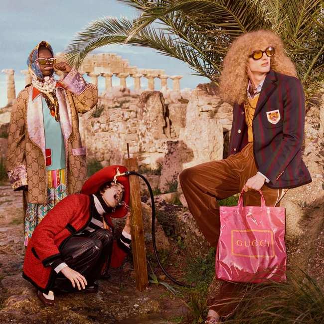 350251fb791 We spraken de archeoloog achter het decor van de nieuwe Gucci-campagne