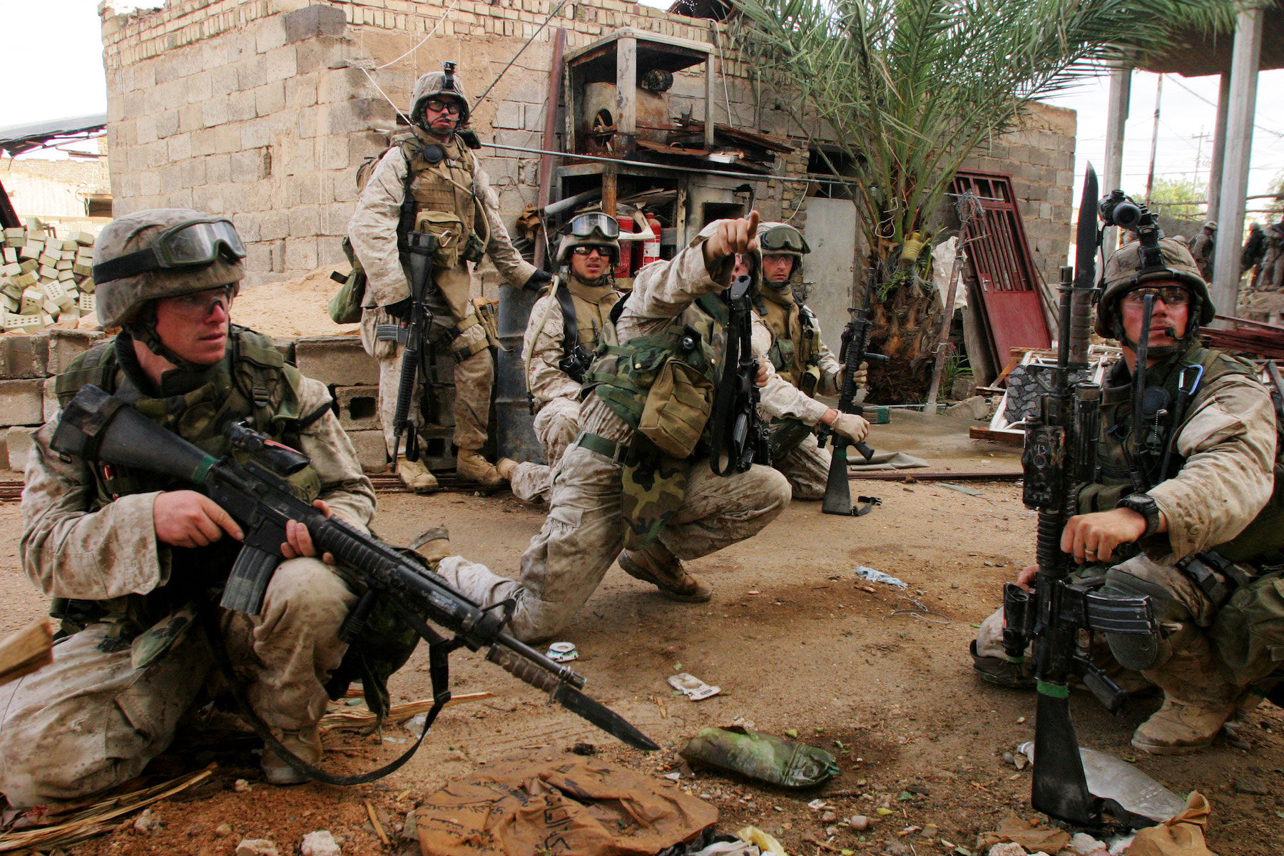 "Inside the kill zone of Fallujah's ""Hell House"""