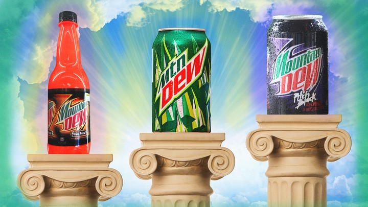 A Definitive Ranking of Almost Every Flavor of Mountain Dew - VICE