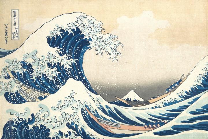 Een beroemd Japans schilderij is opgeslagen in eiwitmoleculen - VICE
