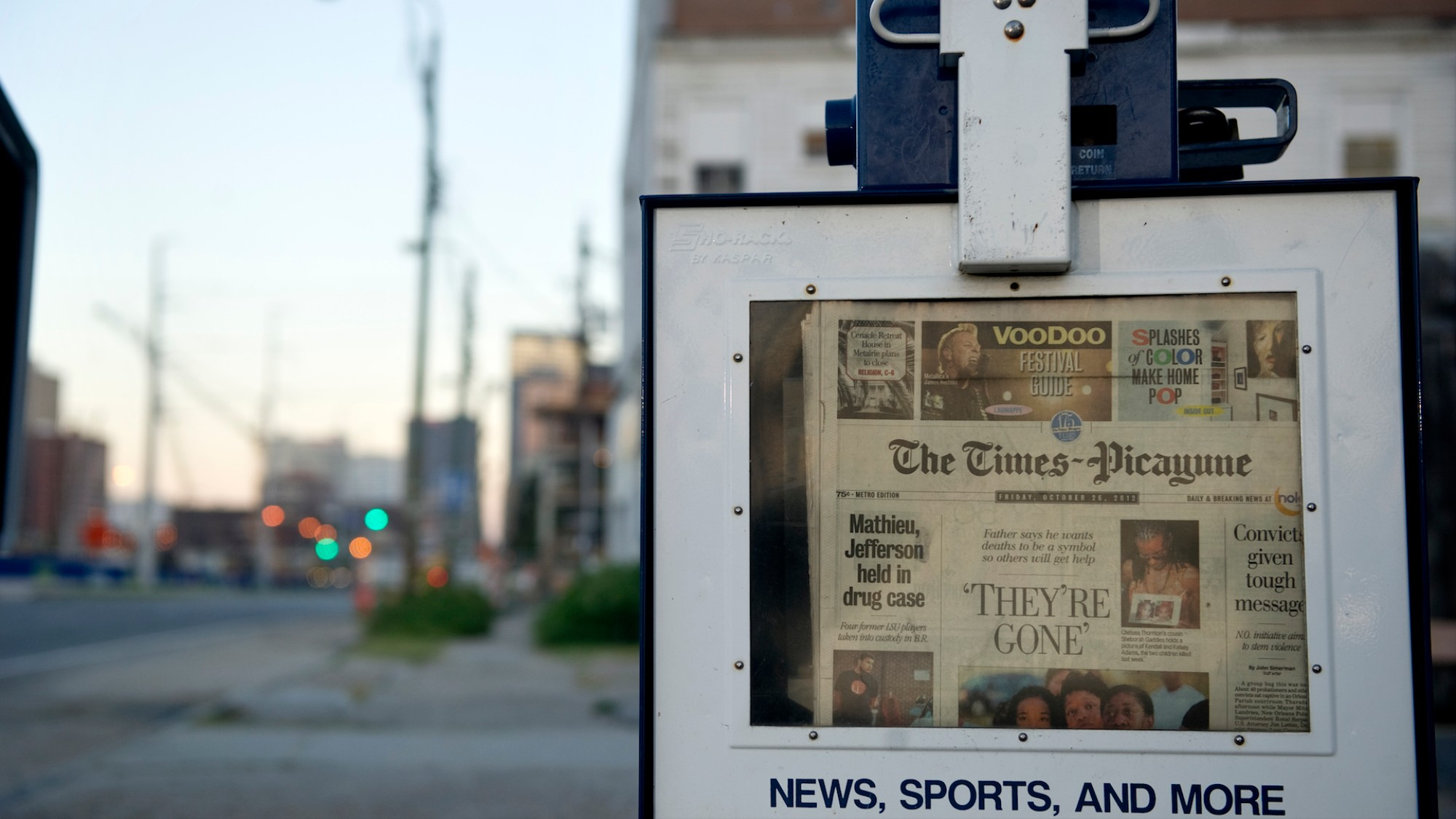 """We're drinking now"""": The oldest newspaper in New Orleans"""
