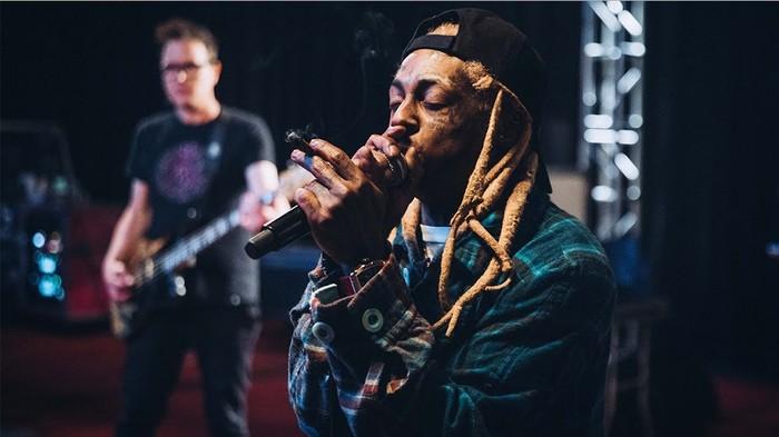 Les sphincters de la nostalgie ont relâché Lil Wayne et blink-182
