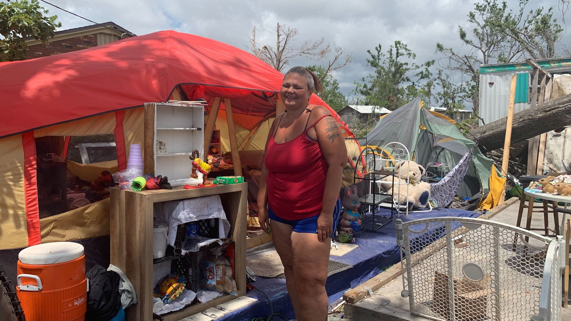 The Forgotten People Living in Tents 7 Months After Hurricane Michael