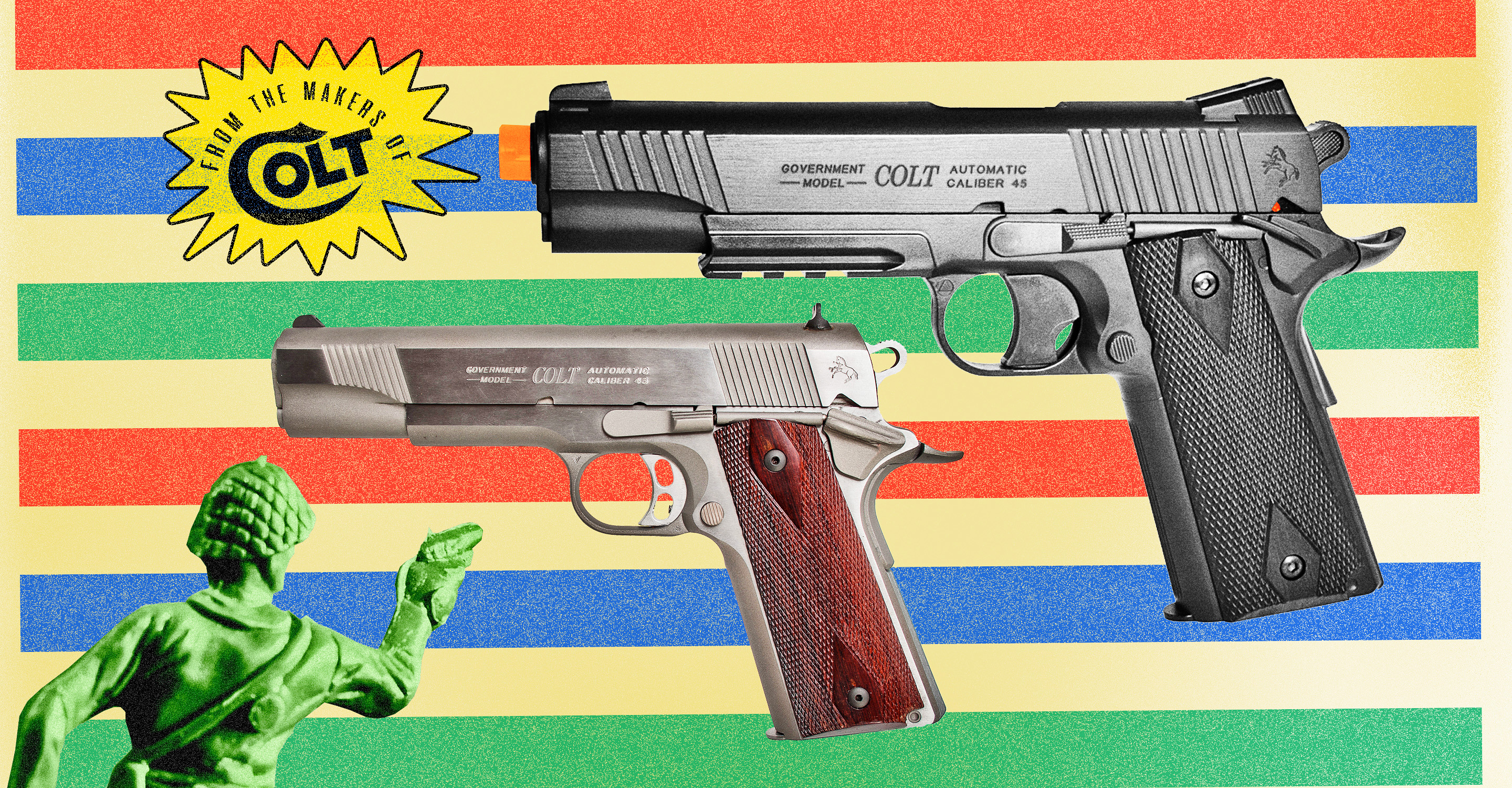 Gun Companies are Helping Toy Makers Design Replicas That Get Kids