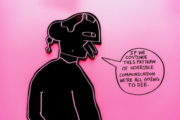 corey wash's colorful art explores our toxic relationship with social media - i-D