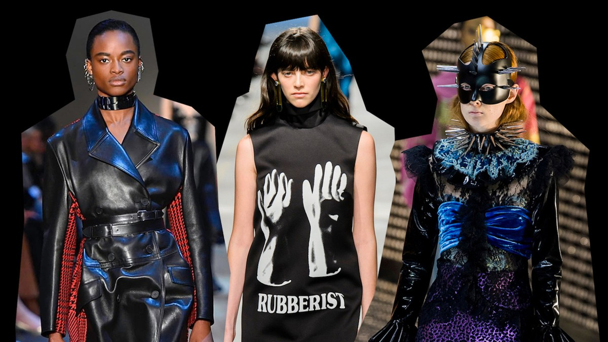 why the dominatrix has made a whip-cracking return to the runways