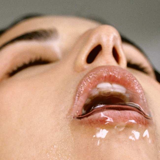 Close-up vrouwelijk orgasme