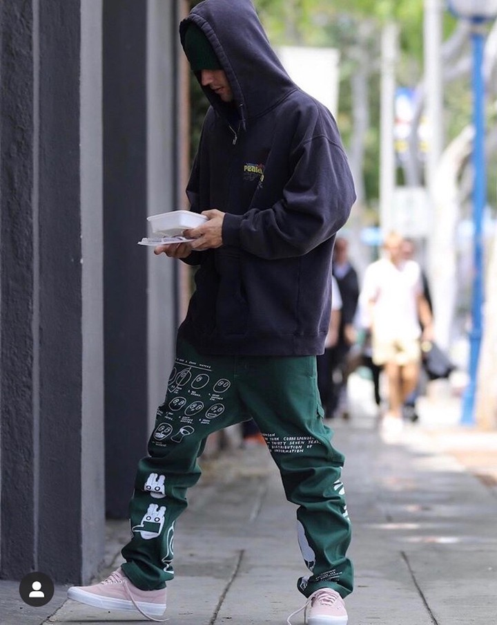 Justin Bieber's Sweatpants Are, Quite Simply, Art - GARAGE