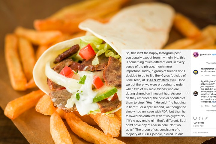 Gay Teens Say Gyro Restaurant Worker Told Them 'Their Kind' Was Not Welcome - VICE