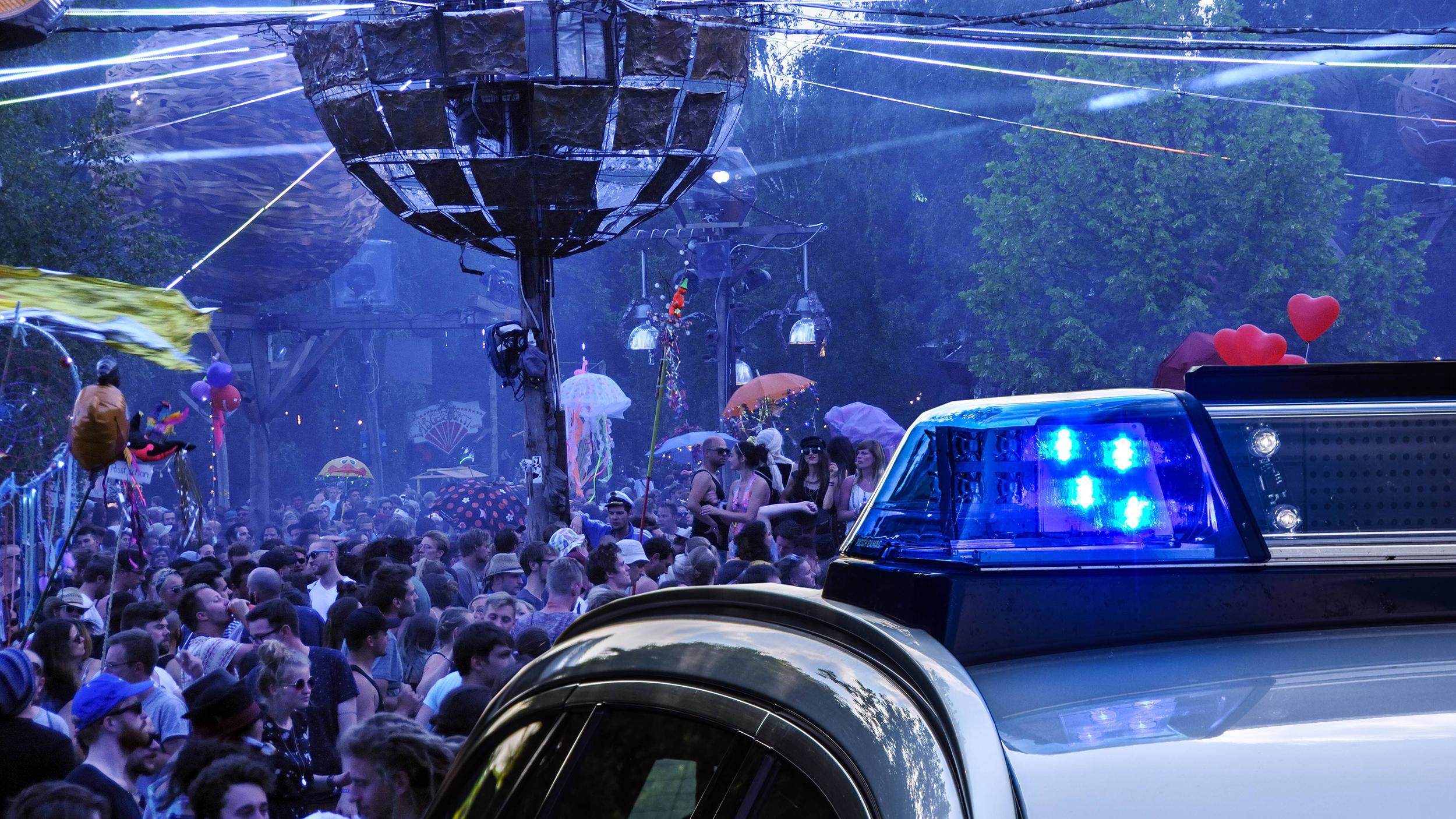 Die Polizei hat einen Großeinsatz beim Fusion-Festival vorbereitet