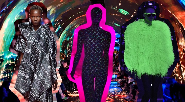 In the age of big tech, why is fashion returning to the world of cyberpunk? - i-D
