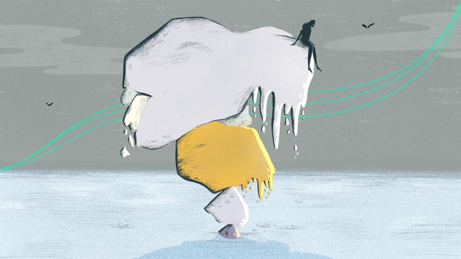 Wanneer bereiken we het punt dat de ijskappen onomkeerbaar smelten?