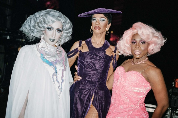 Behind the scenes with Violet Chachki, Detox and Kim Chi from RuPaul's Drag Race on their Werq The World tour - i-D