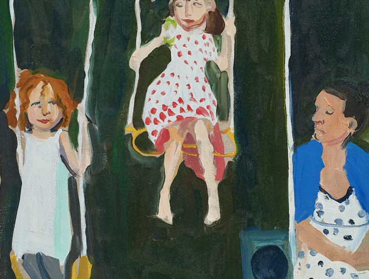 Chantal Joffe Uses Painting To Chart the Maternal Bond - GARAGE