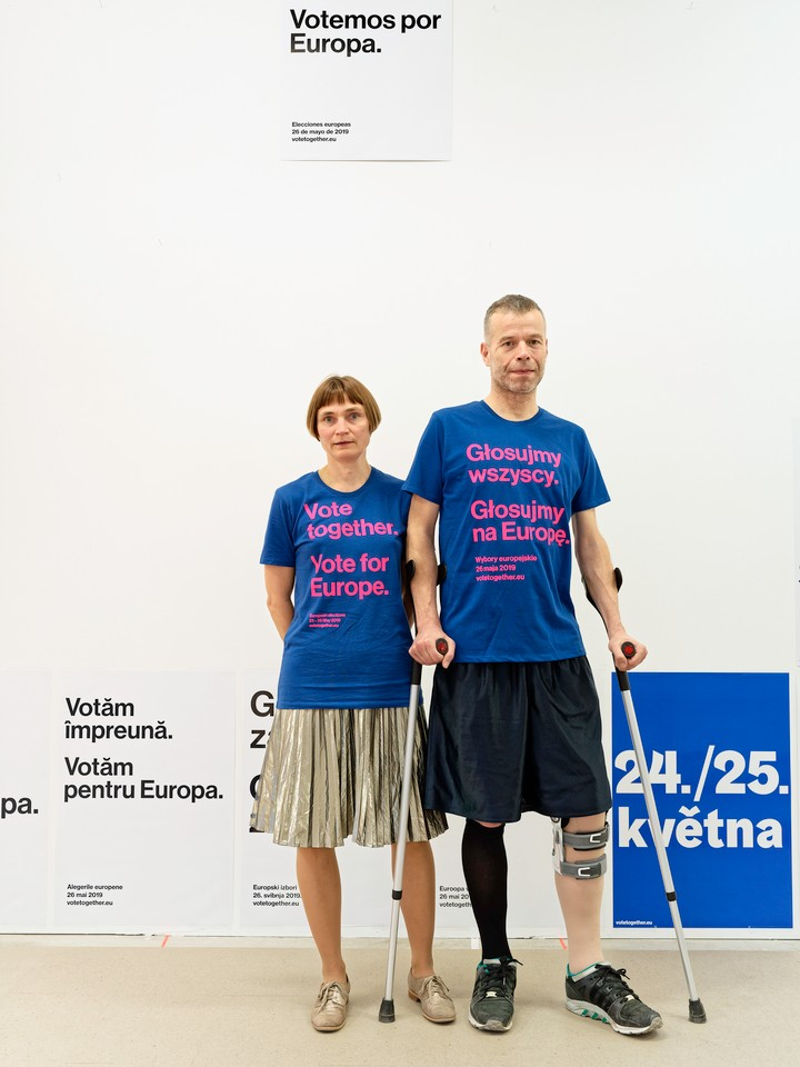 Wolfgang Tillmans: Vote together and build a better future - i-D