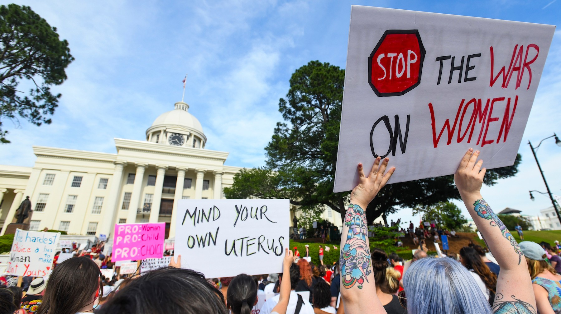 Alabama Wants To Criminalize Something That Doesn't Even Happen In The State