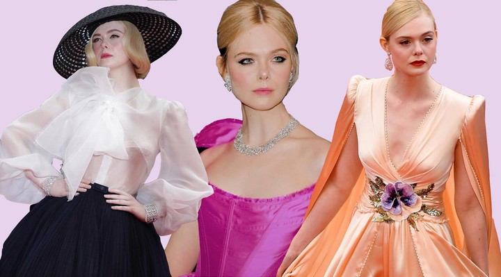 Elle Fanning's red carpet style at Cannes - i-D