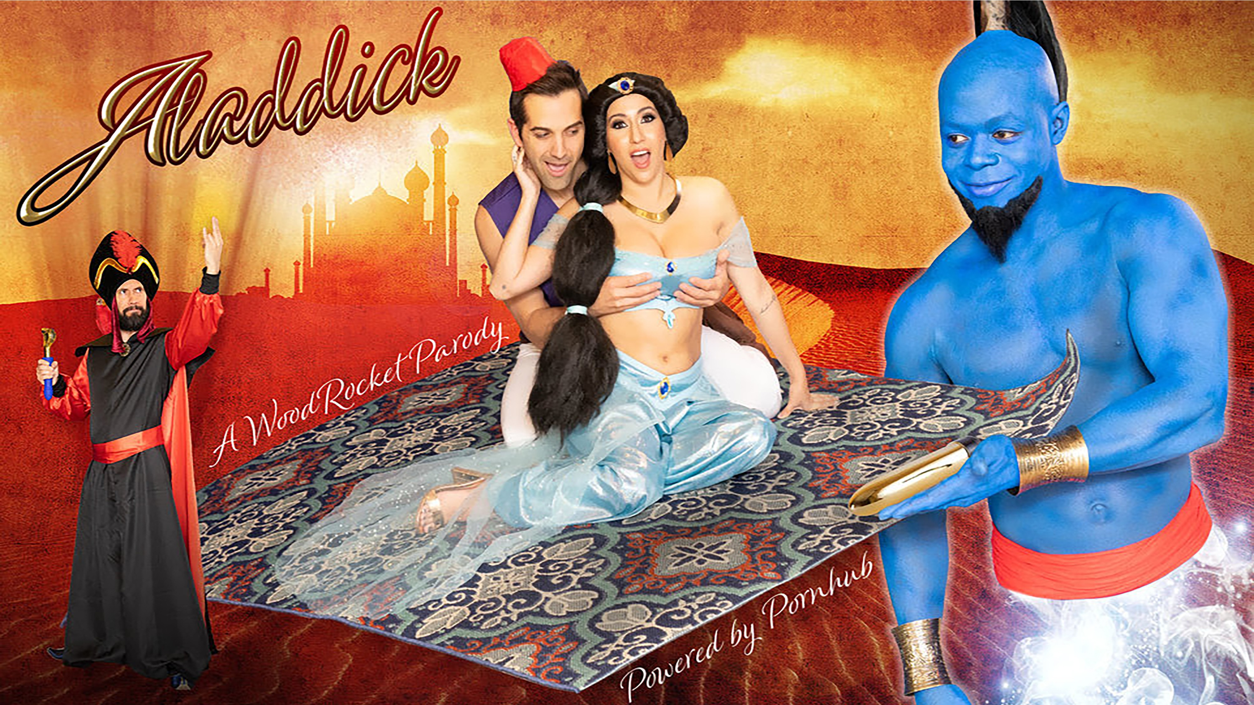 New Porn Parody vice - the 'aladdin' porn parody is here and we fixed its title