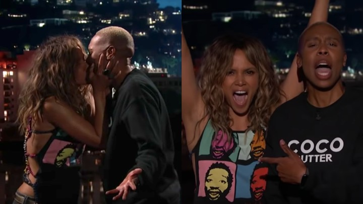 Lena Waithe and Halle Berry Interrupt 'Jimmy Kimmel Live!' With an Important Queer Message - VICE