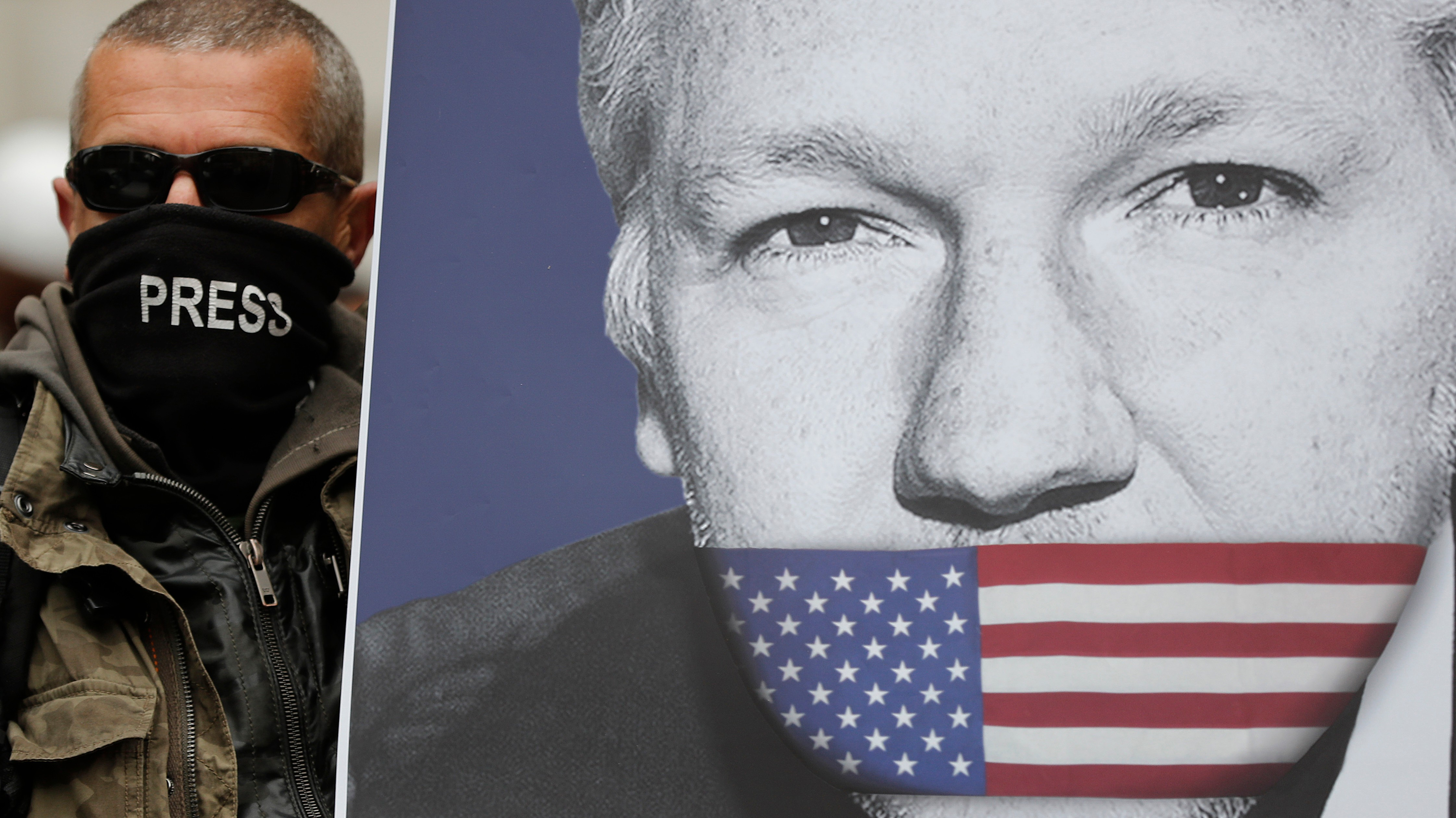 The DOJ Just Charged Julian Assange Under the Espionage Act