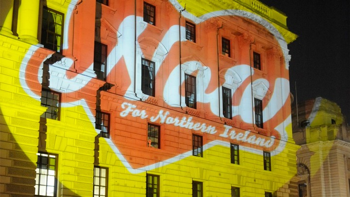 Now for NI projections appear on buildings across UK - i-D