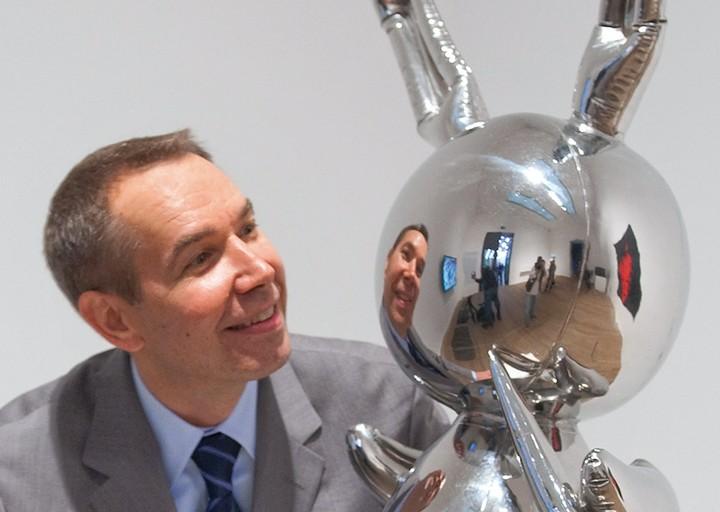 What's Hidden in Jeff Koons's Silver Rabbit Is Unforgettable - GARAGE